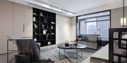 120平米三室两厅中式风格客厅装修图片大全