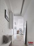 90平米三室两厅现代简约风格玄关图片