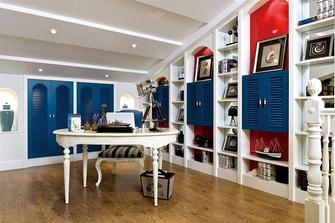 140平米别墅地中海风格影音室装修案例