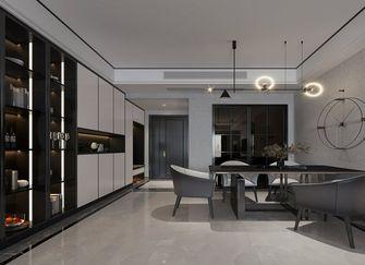 120平米四室两厅现代简约风格餐厅装修图片大全