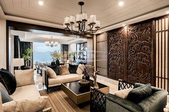 140平米四室四厅东南亚风格客厅设计图