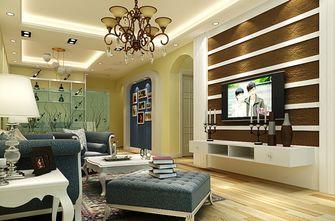 140平米四室一厅美式风格客厅设计图