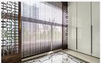 130平米三中式风格阳光房设计图