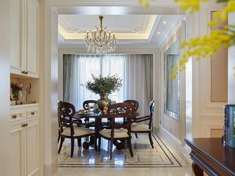 120平米三室两厅欧式风格餐厅欣赏图