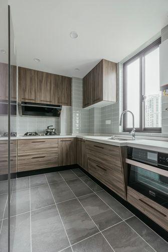 130平米三室两厅法式风格厨房效果图