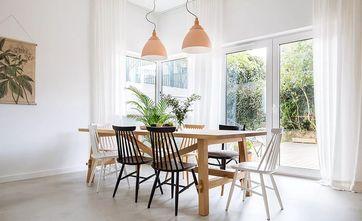 60平米一室一厅现代简约风格餐厅效果图