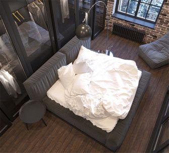 50平米一室一厅英伦风格卧室图
