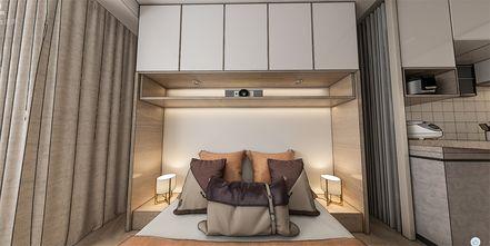 40平米小户型现代简约风格卧室图片