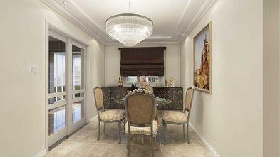 130平米三新古典风格餐厅装修图片大全