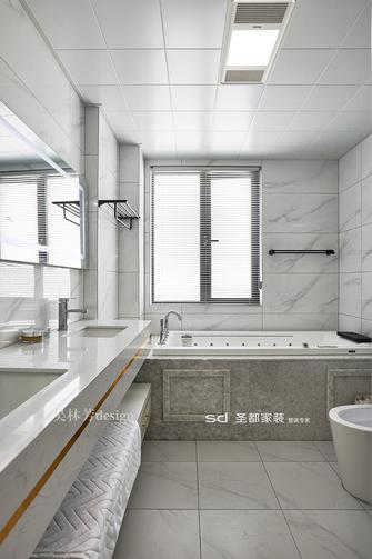 130平米三室两厅现代简约风格卫生间设计图