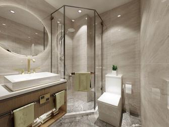 140平米四室两厅田园风格卫生间效果图