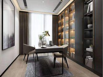 140平米三室两厅混搭风格书房设计图