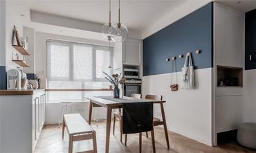 120平米三室两厅北欧风格餐厅装修效果图