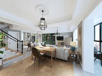 140平米三室两厅英伦风格客厅设计图