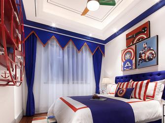 100平米三室两厅欧式风格儿童房设计图