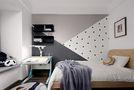 110平米三室两厅英伦风格儿童房图片