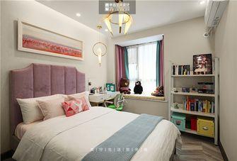 120平米三室三厅现代简约风格儿童房图片