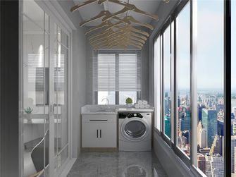 90平米三现代简约风格阳台设计图