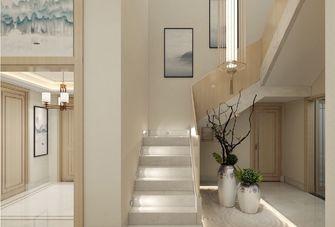 140平米复式日式风格楼梯间图片大全