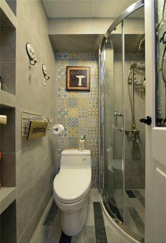 60平米一室一厅地中海风格卫生间欣赏图
