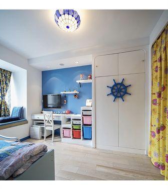 130平米三室两厅地中海风格儿童房装修图片大全