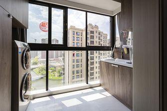90平米三室两厅混搭风格阳台图片大全