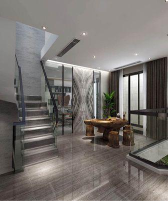 140平米复式现代简约风格阁楼设计图