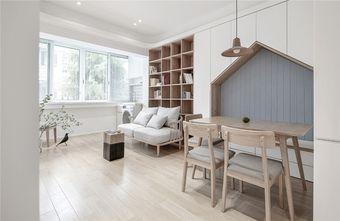 70平米日式风格客厅装修效果图