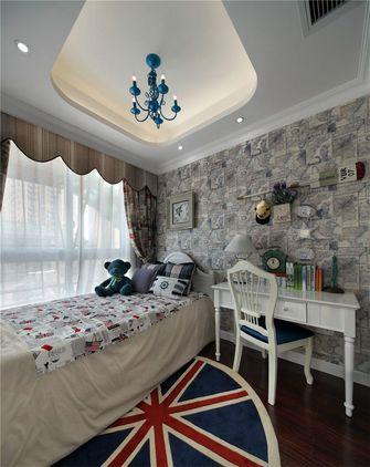 90平米三室两厅地中海风格儿童房装修效果图