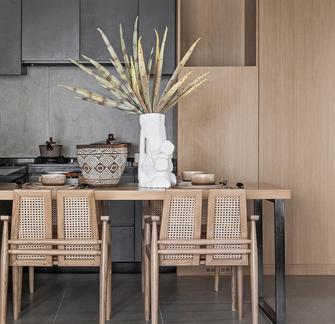 60平米一居室日式风格餐厅装修图片大全