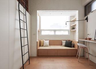 120平米三室一厅日式风格阁楼设计图