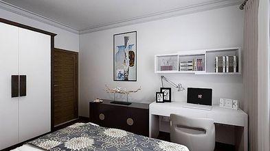 120平米三中式风格卧室装修案例