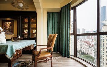 130平米三室两厅地中海风格阳台装修图片大全