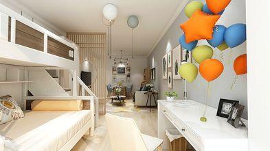 70平米一室两厅北欧风格儿童房装修效果图