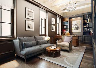 140平米复式美式风格阁楼装修效果图