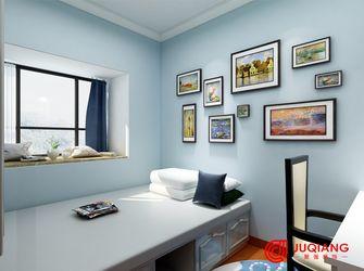 90平米三室一厅田园风格儿童房装修图片大全