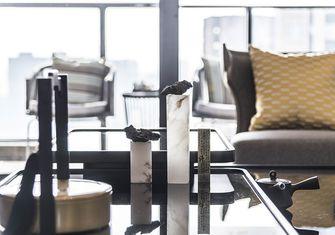 120平米复式中式风格餐厅装修案例