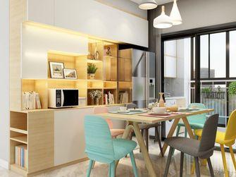 80平米三室一厅宜家风格餐厅装修案例