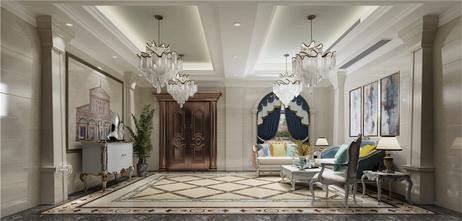 豪华型140平米别墅欧式风格玄关图片