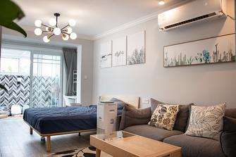 40平米小户型现代简约风格卧室欣赏图