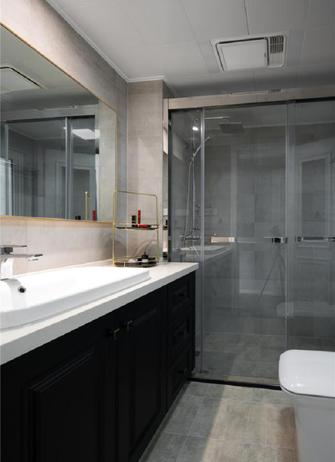 100平米三室两厅美式风格卫生间效果图
