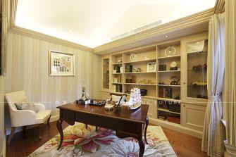 豪华型140平米别墅美式风格书房装修效果图