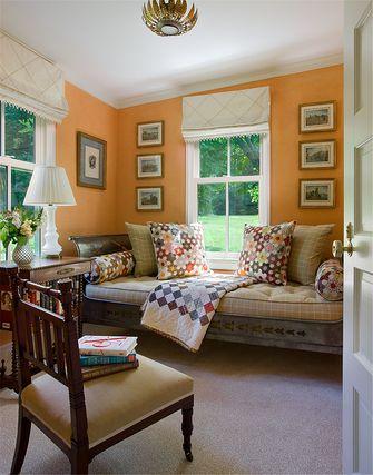 140平米四室三厅中式风格阳光房图