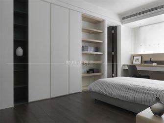 130平米三室一厅日式风格卧室欣赏图