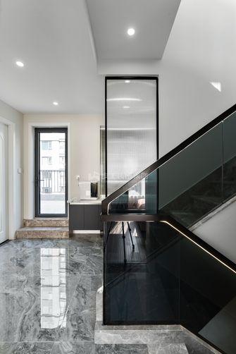 130平米复式现代简约风格楼梯间效果图
