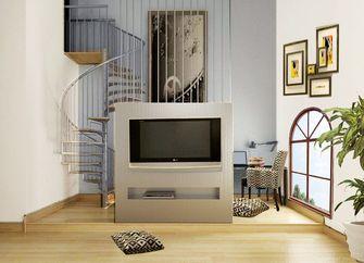 140平米复式中式风格阁楼设计图
