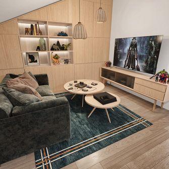 140平米四室两厅北欧风格影音室图