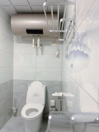 80平米现代简约风格卫生间效果图