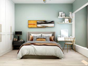 90平米现代简约风格卧室图