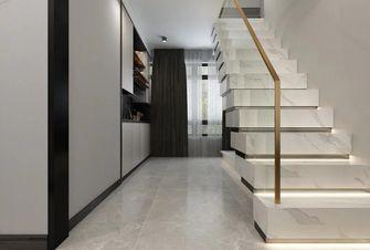 140平米四室两厅混搭风格楼梯间图